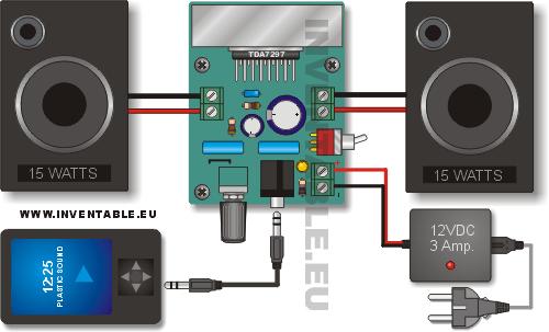 Amplificador_TDA7297_conexion