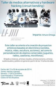 Medios alternativos y hardware hacking (circuit bending) @ Laboratorio de Arte Jorge Martínez | Guadalajara | Jalisco | México