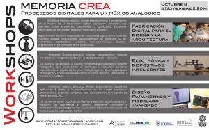 Memoria Crea @ Estudio Huella Cero | Coyacán | Distrito Federal | México