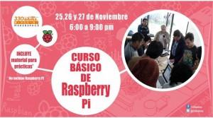 Programando con Raspberry Pi @ Makerspace 330 Ohms