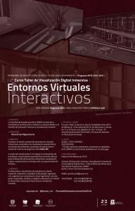 Entornos Virtuales Interactivos @ Facultad de Arquitectura UNAM