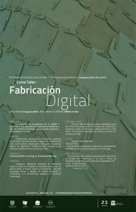 Fabricación Digital @ Facultad de Arquitectura UNAM