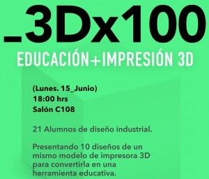 3Dx100