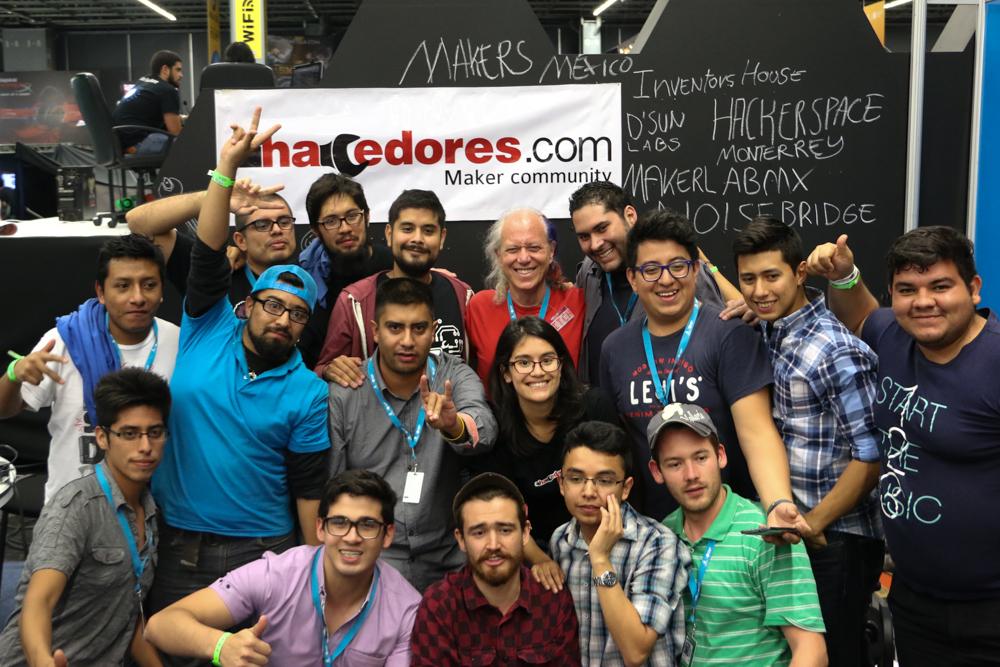 Comunidad Maker México y Mitch Altman