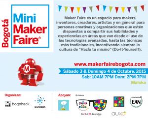 Maker Faire Bogotá 2015 @ Bogotá, Colombia.