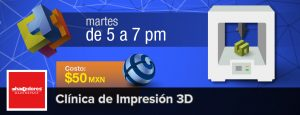 Clínica de Impresión 3D @ Hacedores Makerspace