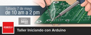 Crea tu propio shield para Arduino. @ Hacedores Makerspace