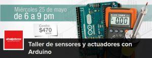 Sensores y actuadores con Arduino @ Hacedores Makerspace