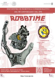 """Encuentro de Robótica conmemorativo del 80 Aniversario del IPN del 80 Aniversario del IPN @ CECyT 9 """"Juan de Dios Bátiz"""""""