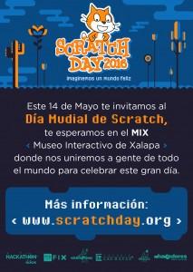 Scratch Day México 2016 @ Museo Interactivo de Xalapa
